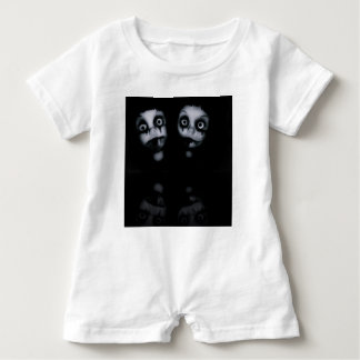 Terror twins haunted dolly product baby romper