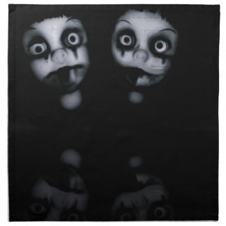 Terror twins haunted dolly product napkin