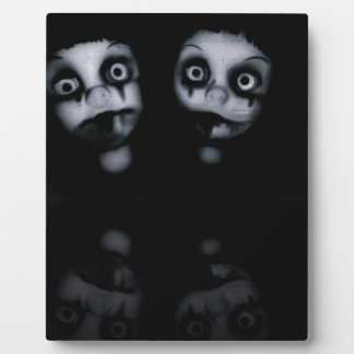 Terror twins haunted dolly product plaque