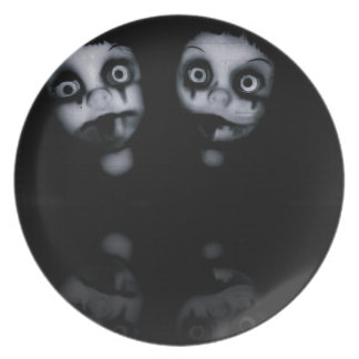 Terror twins haunted dolly product plate
