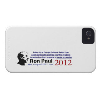 Terrorist Attacks Occur Due To Foreign Occupation Case-Mate iPhone 4 Cases