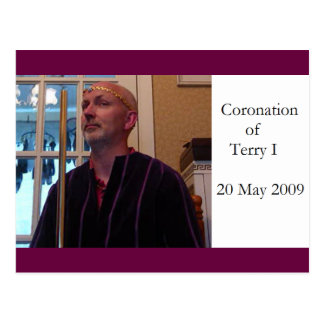 Terry Coronation Postcard