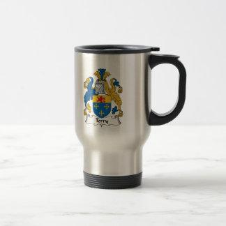 Terry Family Crest Travel Mug