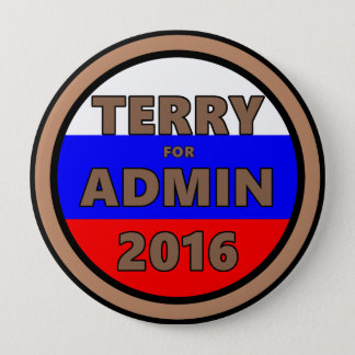 Terry for Admin 2016 Button
