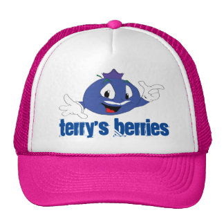 Terry's Berries Trucker Snap Back. Trucker Hat