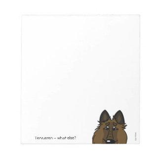 Tervueren - does else what? notepad