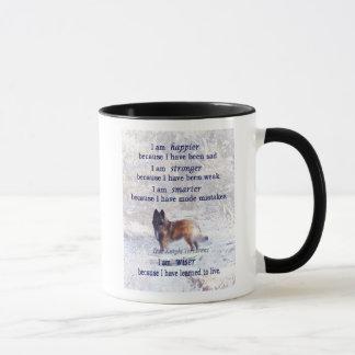 Tervuren Mug; Inspirational Quote Mug