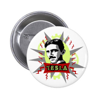 Tesla 2 Inch Round Button