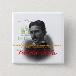 Tesla 2 Inch Square Button
