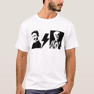 Tesla and Edison - the Original AC/DC. T-Shirt
