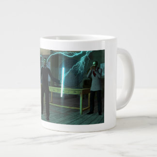Tesla and Friends Jumbo Mug