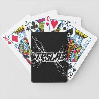 Tesla Bicycle Playing Cards