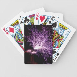 Tesla Coil Plasma Poker Deck