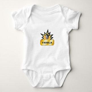 tesla explosion baby bodysuit