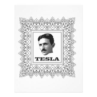 tesla in a box custom letterhead