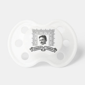tesla in round pacifier