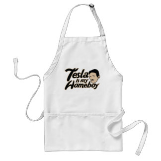 Tesla is my Homeboy Aprons