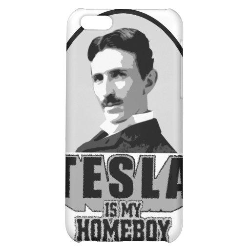 Tesla Is My Homeboy iPhone 5C Cases