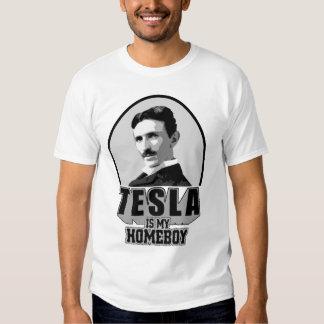 Tesla Is My Homeboy Tee Shirt