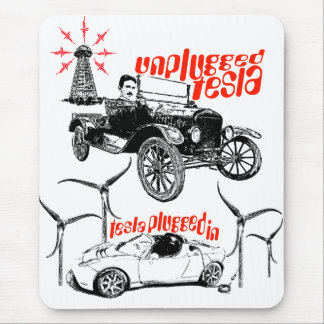 Tesla Mouse Pad
