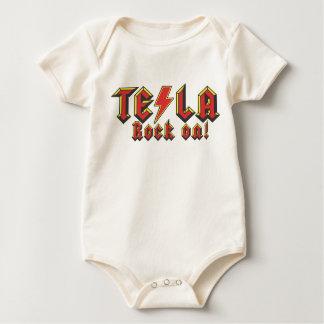 Tesla Nikola Baby Bodysuit