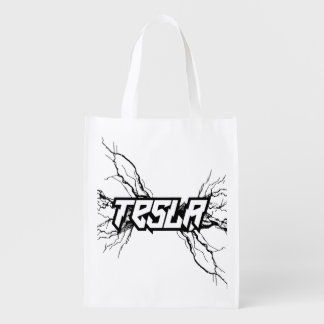 Tesla Reusable Grocery Bag