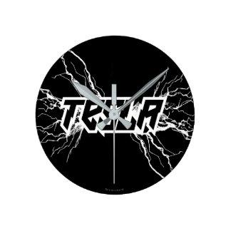 Tesla Round Clock