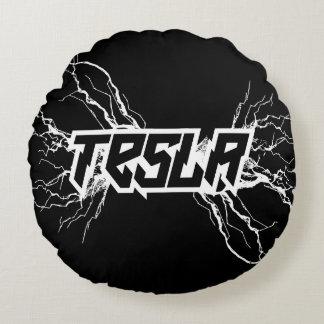 Tesla Round Pillow