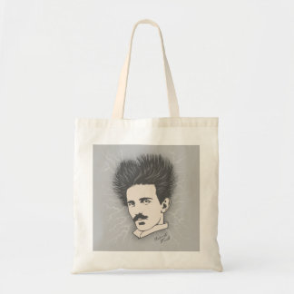 Tesla Static II Tote Bag