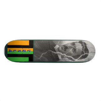 Tesla, The Lightning Man Skateboard Deck