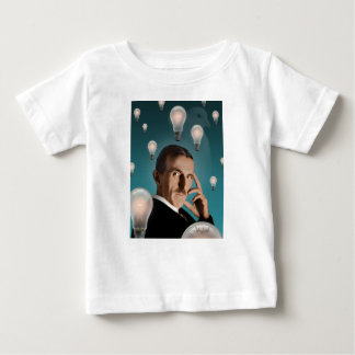 Tesla's Dream Baby T-Shirt
