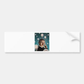 Tesla's Dream Bumper Sticker