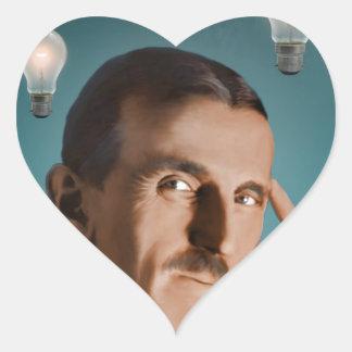 Tesla's Dream Heart Sticker