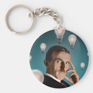 Tesla's Dream Keychain