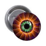 Tesla's Other Eye Fractal Art 2 Inch Round Button