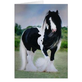 """Tessa"" Horse Greeting Card"