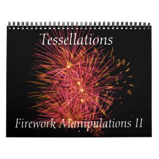 Tessellations - Firework Manipulations II Calendar