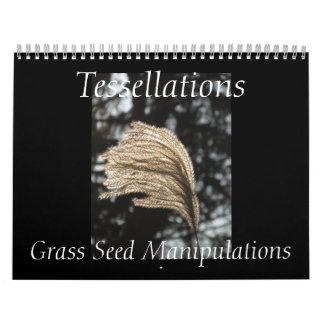 Tessellations - Grass Seed Manipulations calendar