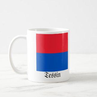Tessin, Schweiz Fahnen Flags Coffee Mug