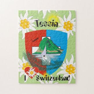 Tessin - Ticino - Switzerland - Svizzera puzzle