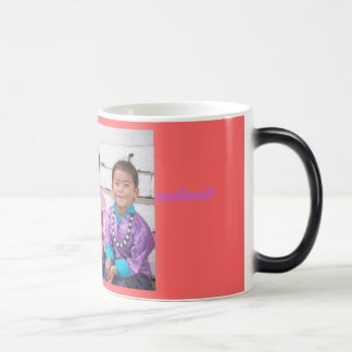 test 11 oz magic heat Color-Changing coffee mug