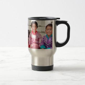 test 15 oz stainless steel travel mug