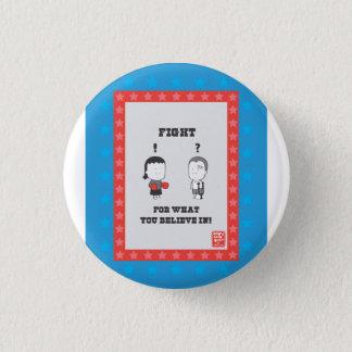test 1 inch round button