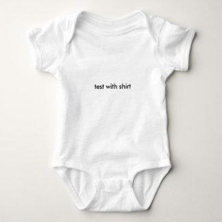 test 2 baby bodysuit