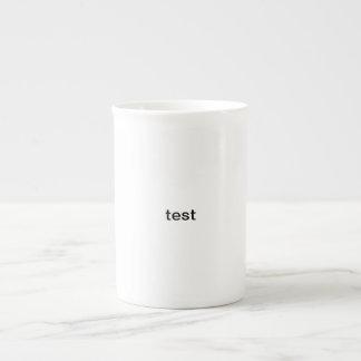 test bone china mug
