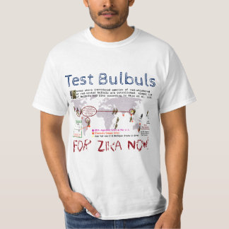 Test Bulbuls For Zika Shirt by RoseWrites