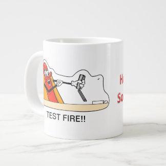 Test Fire!! Jumbo Mugs