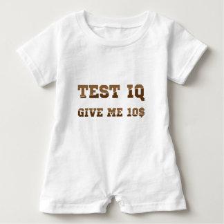 Test iq baby romper