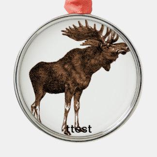 test metal ornament