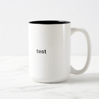 test mugs